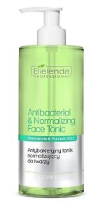 Bielenda Professional Antibacterial Normalising Face Tonic Mandelic Acid 500ml