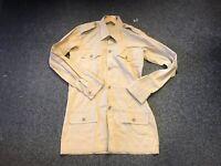 WW2 British Army Khaki airtex 4 pocket shirt - repro - MADE TO YOUR SIZES