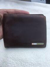NAVA Gentlemans Brown Leather Bifold Wallet.