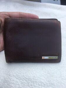 NAVA Gentlemans Brown Leather Bifold Wallet.