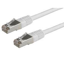 10x Cat5e ftp blindé gris 0.5M/50cm cordon de raccordement-câble réseau câble RJ45