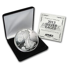 2013 4 oz Silver Eagle Round - with Box and Certificate - SKU #73505