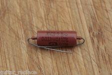 Condensador 0.033 Uf 200V Capacitor Aceite Paper In Oil PIO NOS  Rojo Cap Caps