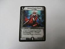 Carte Duel Masters General Dark Fiend Rare !!!