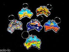18 X Australian Souvenir Keyring Keyrings Map Wholesale BULK