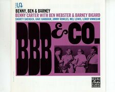 CD BENNY CARTER / BEN WEBSTER / BARNEY BIGARDBBB&COEX+  (A3471)