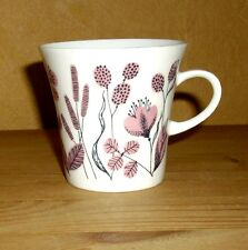 Melitta Friesland 1 Kaffeetasse, lila- schwarzes  Blumendekor 2. Wahl