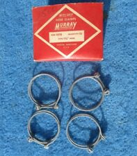 "Vintage Wire Band Screw 1 3/4 "" Hose Clamps 4 NOS Original Murray Made in USA"