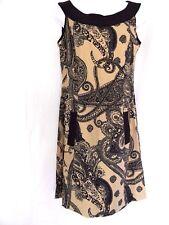 Ronni Nicole Size 8 Sheath Dress Womens Sleeveless Paisley Pattern Stretch Dress