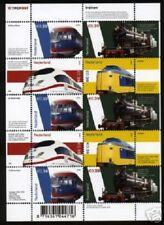 Nederland NVPH 2366-69 Vel Treinen  2005 Postfris