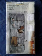 TCM Tchibo Ordnungssystem 8 Fenstertaschen Tür-, Wandbefestigung 46 x 125 [cm]