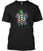 Sea Turtle Graphic Hanes Tagless Tee T-Shirt