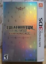 New! Theatrhythm Final Fantasy: Curtain Call [Collector's Edition](Nintendo 3DS)