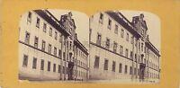 Prato Toscana Italia Stereo Stereoview Vintage Albumina Ca 1860