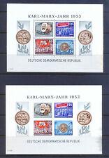 Briefmarken DDR Block 9 A und B