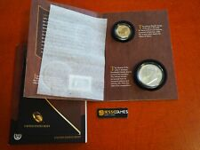 2015 P REVERSE PROOF JOHN F KENNEDY DOLLAR & SILVER MEDAL COIN & CHRONICLES SET