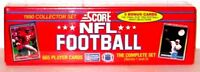1990 Score NFL Football Complete Factory Set Series 1 and 2 Sealed 665 Cards.