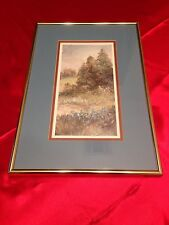 VTG Mary Vincent  Bertrand SIGNED #55 of 1900 Framed Print Kaplan, Louisiana