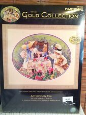 Dimensions Gold Collection AFTERNOON TEA Cross Stitch Kit New (other)