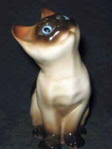 Vintage Enesco Ceramic Siamese Cat Figurine