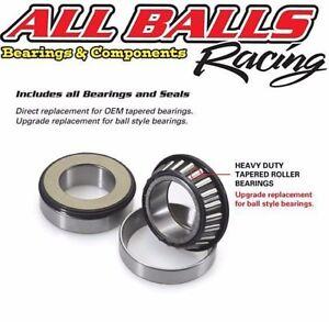Honda CBR600 F4i 2001 to 2007 Steering Bearings & Seals Kit,By AllBalls Racing