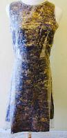 Brand New NEW GIRL Black & Gold Chiffon Layered Dress - sizes 8,10,12,14