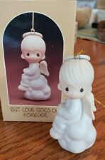 Precious Moments Ornament Boy on Cloud, But Love Goes On Forever #E-5627