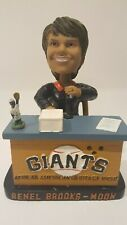 2008 San Francisco Giants Renel Brooks Moon Bobblehead SGA New with voice chip