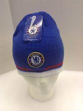 Chelsea FC Winter Beanie Hat Cap Skull Blue White Red OSFM NWT New K1H10