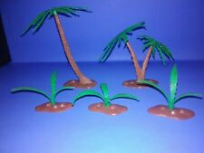 Vintage Marx Prehistoric Playset Palm Trees and Ferns