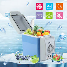 Car Fridge 12V 7.5L Portable Cool Warm Truck Electric Refrigerator for RV Boat