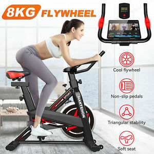 Heavy Duty Exercise Bike Home Gym Fitness Cardio Workout Indoor Training Machine
