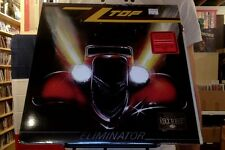ZZ Top Eliminator LP sealed red colored vinyl RE reissue Rhino Rocktober