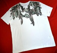 """ALL SAINTS """"CAMONITION SS CREW"""" GRAPHIC T-SHIRT TOP TEE - WHITE - SIZE XL"""