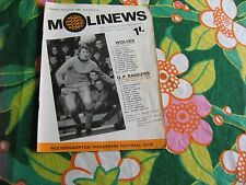 Wolverhampton Wanderers v Queens Park Rangers Football League Division 1 1968