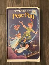 Vintage - Walt Disney Classic Peter Pan VHS Video Tape Black DiamondPETERP