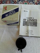 Yashica (Kyocera) AF 24mm/F2.8 Interchangeable Macro Lens Japan