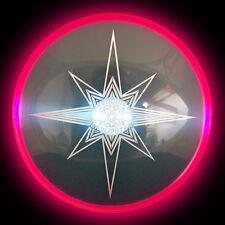 Aerobie Skylighter LED Leuchten Frisbee! - rot-pink