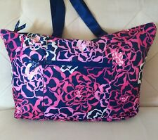 Vera Bradley Katalina Pink Tote in a Pouch