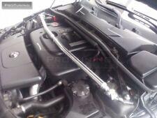 Polished Aluminium FRONT UPPER STRUT BRACE BAR Suspension Lower Petrol engines