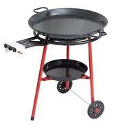 Mabel Home Paella Pan+Paella Burner and Stand Set on Wheels+Complete Paella Kit