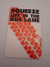 Squeeze Life in the Bus Lane Backstage Concert Pass