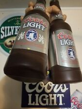 Vintage Coors Light 3D Sign Rare