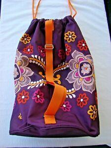 Vera Bradley Safari Sunset Large Laundry Duffle Bag