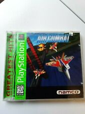 Air Combat PlayStation1 1995 Pre-Owned VG Condition Manual//Disc/Cover Free Ship