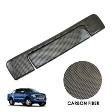 Ford Ranger T6 2012-2015 CARBON FIBRE Tailgate Handle Covers