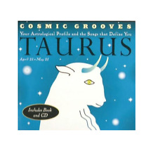 COSMIC GROOVES - TAURUS - BOOK AND 12 TRACK MUSIC CD - NEW - F963