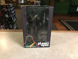 """2015 NECA Planet of the Apes GENERAL ALDO SDCC Exclusive 7"""" Inch Figure MOC"""