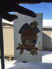 Vintage Owl Small Iron On Transfer