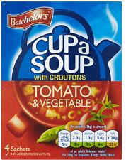 Batchelors Cup a Soup with Croutons Tomato & Vegetable  3 x 104g